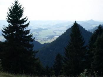 Widok z Trzech Koron