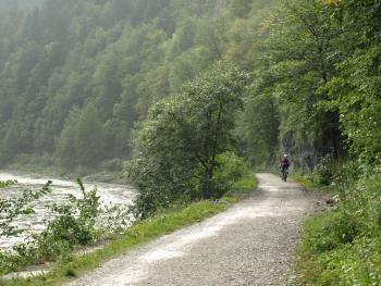 Przełom Dunajca na rowerze