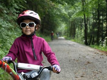 Przełom Dunajca na rowerze z dziećmi