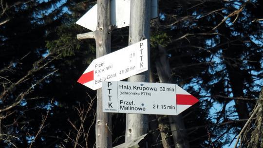 Szlak na Halę Krupową